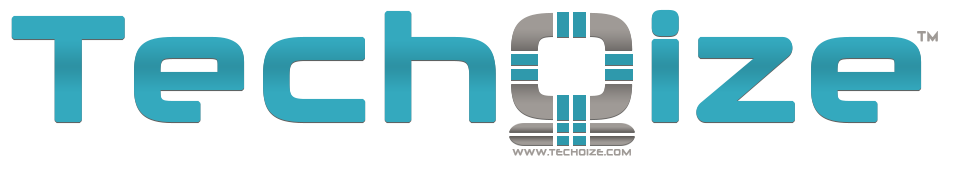Techoize Text Logo