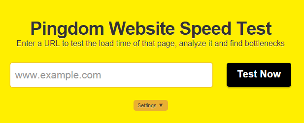 Pingdom Test your Website Speed By Techoize