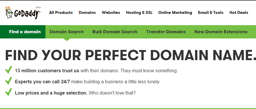 GoDaddy Domain Registrar Cheap Domain Name Techoize