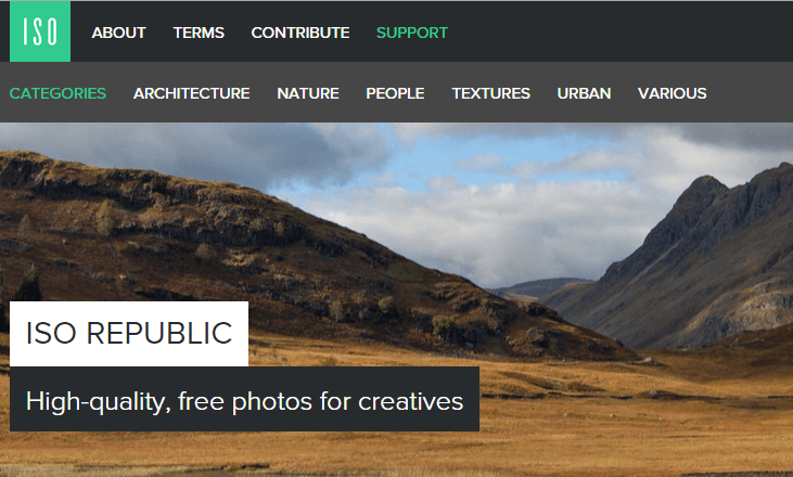 ISO Republic Free Stock Images