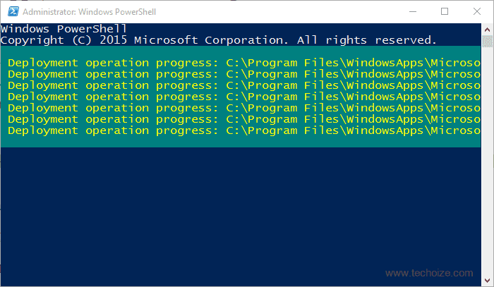 Powershell-App-DeploymentWindows-10-Start-Menu-Fix