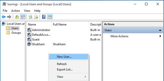 lusrmgr.msc--New-User-Windows-10-Fix-Start-Menu-Button